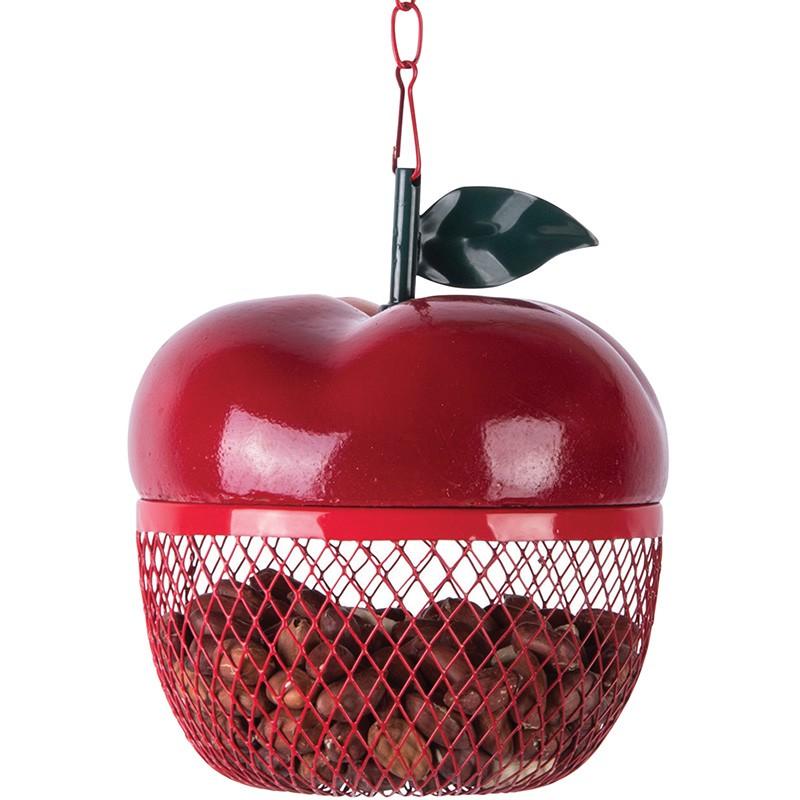 mangeoire design en forme de pomme